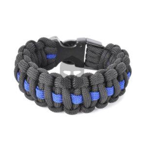 COP Paracord Armband mit blauem Band